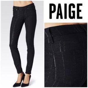 Paige verdugo ultra skinny blk midnight high beam